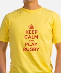 Keep Calm Play Rugby T