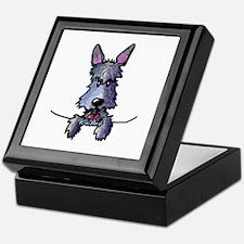 Pocket Scottie Dog Keepsake Box