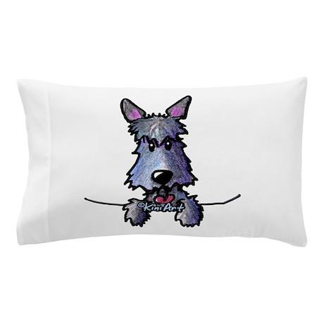 Pocket Scottie Dog Pillow Case
