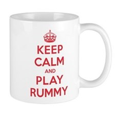 Keep Calm Play Rummy Mug