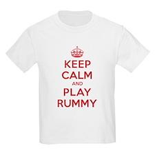 Keep Calm Play Rummy T-Shirt