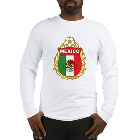Mexico World Cup Soccer Long Sleeve T-Shirt