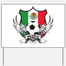 Mexico World Cup Soccer Yard Sign