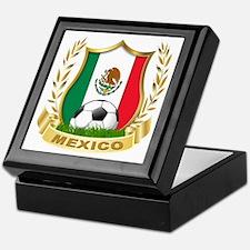 Mexico World Cup Soccer Keepsake Box