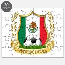 Mexico World Cup Soccer Puzzle