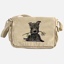 Scottish Garden Helper Messenger Bag