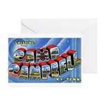 Camp Campbell KY TN Greeting Cards (Pk of 10)
