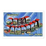 Camp Campbell KY TN Postcards (Package of 8)