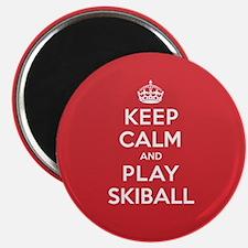"Keep Calm Play Skiball 2.25"" Magnet (10 pack)"