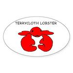 Terrycloth Lobster Sticker