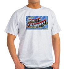 Camp Campbell KY TN Ash Grey T-Shirt