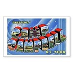 Camp Campbell KY TN Rectangle Sticker