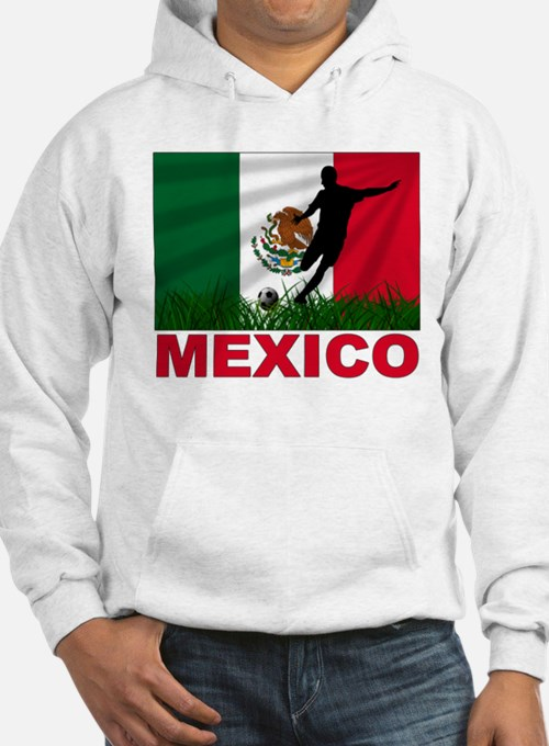 Mexico World Cup Soccer Hoodie