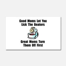 Mom Lick The Beaters Car Magnet 20 x 12