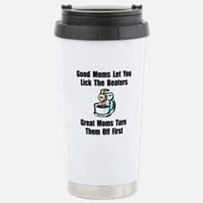 Mom Lick The Beaters Stainless Steel Travel Mug