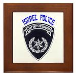Israel Police Framed Tile