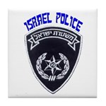 Israel Police Tile Coaster