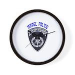 Israel Police Wall Clock