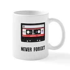 Never Forget Cassette Black.png Mug