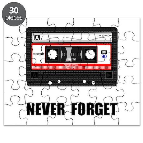 Never Forget Cassette Black.png Puzzle