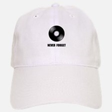 Never Forget Vinyl Black Baseball Baseball Cap