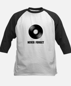 Never Forget Vinyl Black Tee