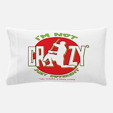 Im Not Crazy (lacrosse) Pillow Case