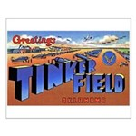 Tinker Field Oklahoma Small Poster