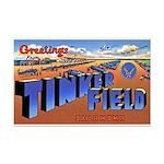 Tinker Field Oklahoma Mini Poster Print