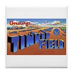 Tinker Field Oklahoma Tile Coaster