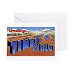 Tinker Field Oklahoma Greeting Cards (Pk of 10