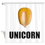 Unicorn Corn Shower Curtain