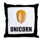 Unicorn Corn Throw Pillow