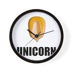 Unicorn Corn Wall Clock