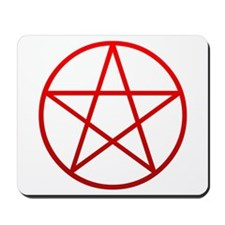 Red Pentacle Mousepad