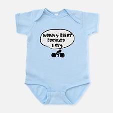 Mommy Bikes Infant Bodysuit