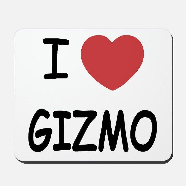 I heart Gizmo Mousepad