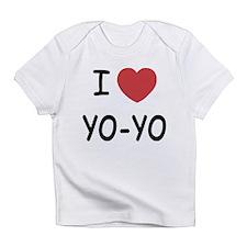 I heart Yo-Yo Infant T-Shirt