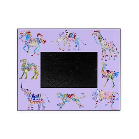 Circus Purple Picture Frame