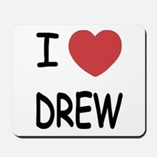 I heart Drew Mousepad