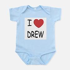 I heart Drew Infant Bodysuit