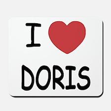 I heart Doris Mousepad