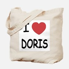 I heart Doris Tote Bag