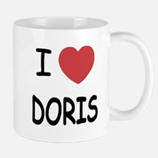 I heart Doris Mug