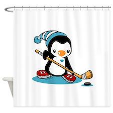 Ice Hockey (5) Shower Curtain