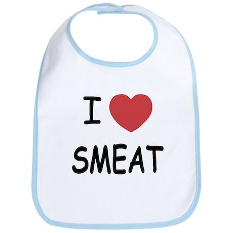 I heart Smeat Bib