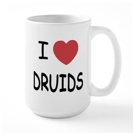 I heart Druids Large Mug