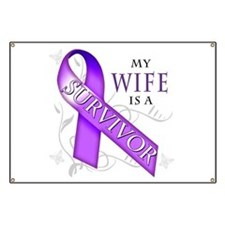 My Wife is a Survivor (purple).png Banner
