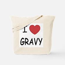 I heart Gravy Tote Bag