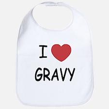 I heart Gravy Bib